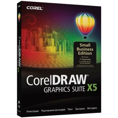 CorelDRAW Graphics Suite X5 - Small Business Edition CDGSX5RUSBE