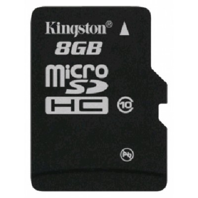 Kingston 8GB Class 10 SDC10-8GB