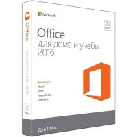 Microsoft Office Mac Home and Student 2016 GZA-00924