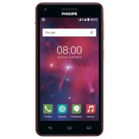 Philips Xenium V377 Black-Red